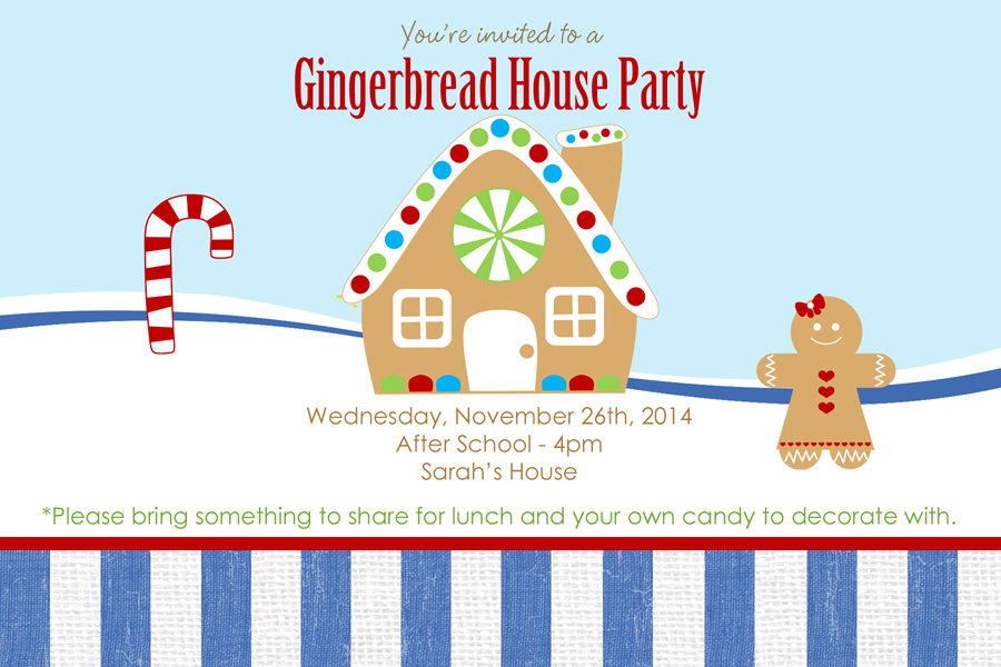 Gingerbread House Party 900